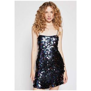Free People Mermaid Mini Party Dress